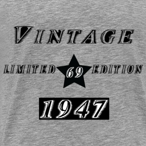VINTAGE 1947 Hoodies & Sweatshirts - Men's Premium T-Shirt