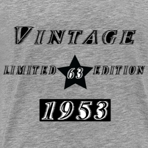 VINTAGE 1953 Hoodies & Sweatshirts - Men's Premium T-Shirt