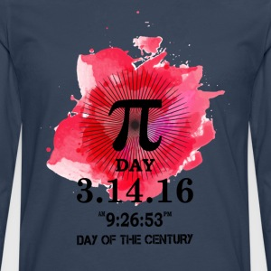 The PI Day Of The Century T-Shirts - Men's Premium Longsleeve Shirt