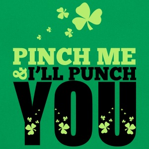 St. Patrick's Day: Pich me i will punch you T-shirts - Retroväska