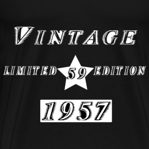 VINTAGE 1957 Hoodies & Sweatshirts - Men's Premium T-Shirt