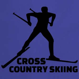 Cross country skiing T-Shirts - Kochschürze