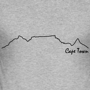 Cape Town Hoodie - Men's Slim Fit T-Shirt