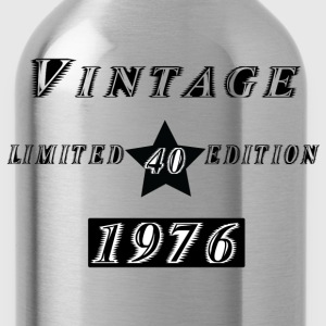 VINTAGE 1976 T-Shirts - Water Bottle