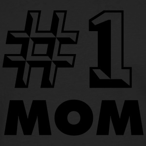 NUMBER ONE MOM T-SHIRT - T-shirt manches longues Premium Homme