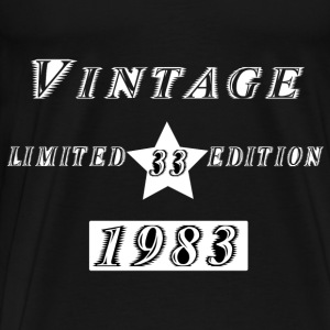 VINTAGE 1983 Hoodies & Sweatshirts - Men's Premium T-Shirt