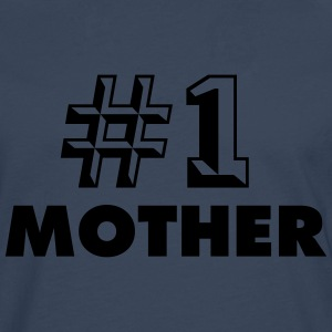 NUMBER ONE MOTHER T-SHIRT - T-shirt manches longues Premium Homme