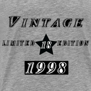 VINTAGE 1998 Hoodies & Sweatshirts - Men's Premium T-Shirt