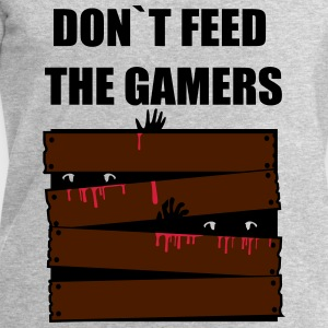 DONT FEED THE GAMERS T-Shirts - Men's Sweatshirt by Stanley & Stella