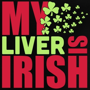 St. Patrick'S Day: MY LIVER IS IRISH Shirts - Baby T-shirt