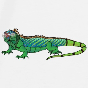 Short sighted iguana mug - Men's Premium T-Shirt
