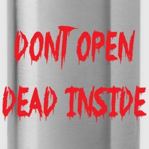 don't open - Borraccia