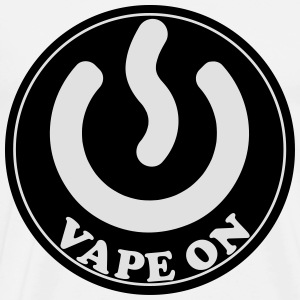 Vape T-shirt Icon Vape On Delantales - Camiseta premium hombre
