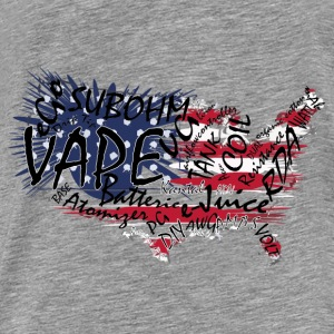 Vape T-shirt Words USA Sweaters - Mannen Premium T-shirt
