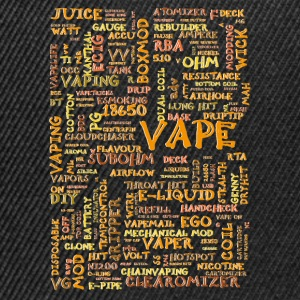 Vape T-shirt words colour Bluzy - Czapka typu snapback