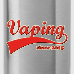 Vape T-Shirt since 2015 Hoodies & Sweatshirts - Water Bottle