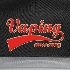 Vape T-Shirt since 2015 Sweat-shirts - Casquette snapback