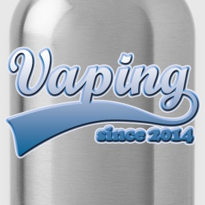 Vape T-shirt since 2014 T-Shirts - Water Bottle