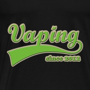 Vape T-shirt Since 2012 Hoodies & Sweatshirts - Men's Premium T-Shirt