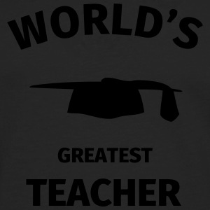 World's Greatest Teacher T-Shirts - Men's Premium Longsleeve Shirt