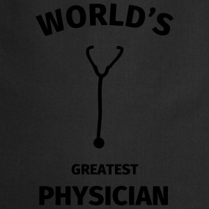 World's Greatest Physician T-shirts - Förkläde