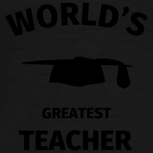 World's Greatest Teacher Mugs & Drinkware - Men's Premium T-Shirt