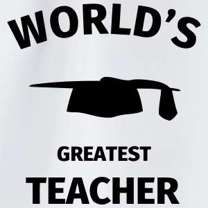 World's Greatest Teacher Mokken & toebehoor - Gymtas