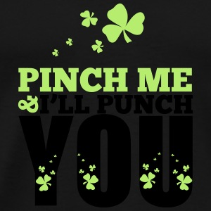St. Patrick's Day: Pich me i will punch you Débardeurs - T-shirt Premium Homme
