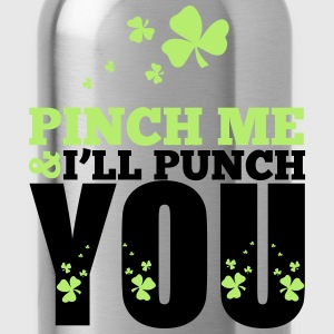 St. Patrick's Day: Pich me i will punch you T-shirts - Drinkfles