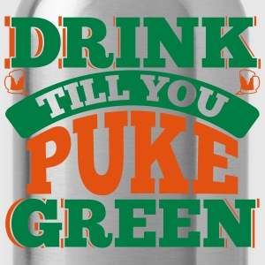 St. Patrick's Day: DRINK TILL YOU PEEK GREEN T-shirts - Drinkfles