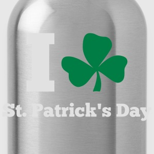 St. Patrick'S Day: I LOVE ST.PATRICK DAY T-Shirts - Trinkflasche
