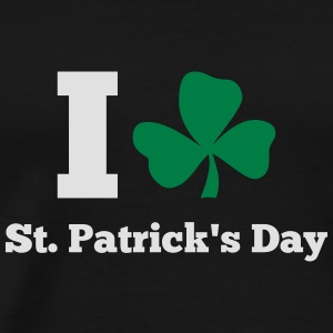 I love St. Patrick's day Tank Tops - Men's Premium T-Shirt