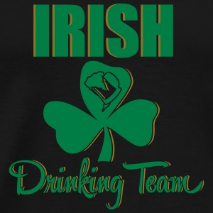 St. Patrick's Day: irish drinking team Tank Tops - Männer Premium T-Shirt