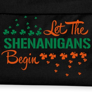 St. Patrick's Day: LET THE SHENANIGANS BEGIN T-Shirts - Kinder Rucksack