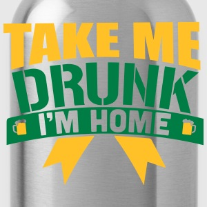 St. Patrick's Day: TAKE ME DRUNK I 'M HOME Tanktops - Drinkfles