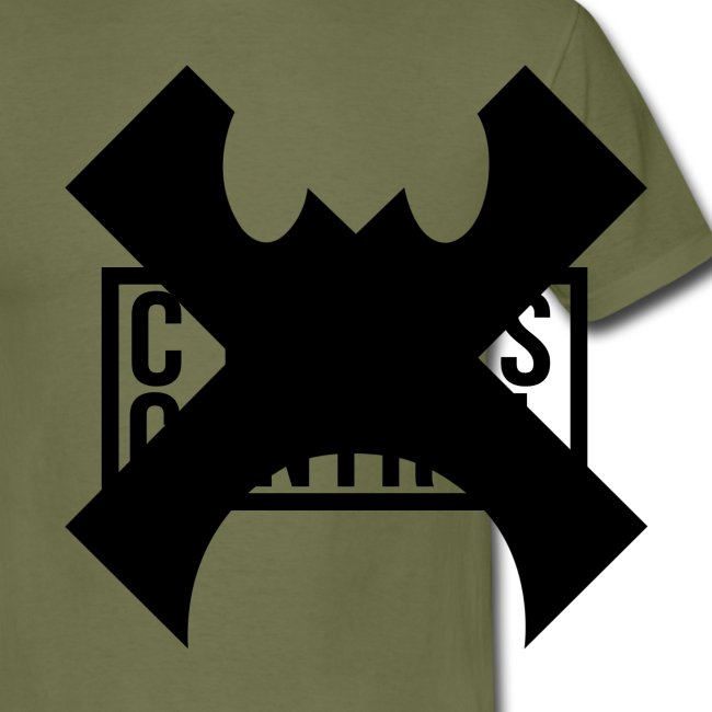 Cross Control Men T Black Logo
