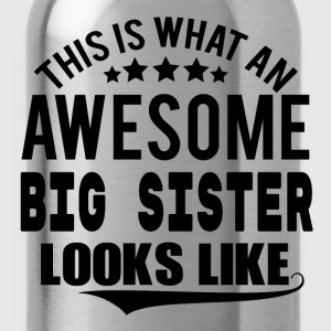 THIS IS WHAT AN AWESOME BIG SISTER LOOKS LIKE T-Shirts - Water Bottle