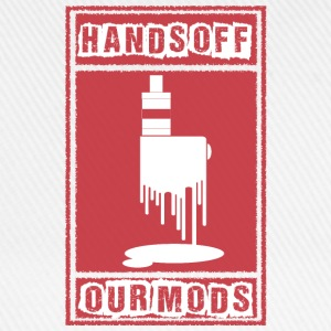 Vape Hands off our mods Camisetas - Gorra béisbol