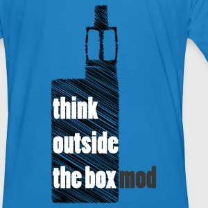 Think Outside the box Sudaderas - Camiseta ecológica hombre