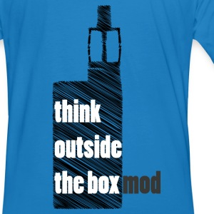 Think Outside the box Felpe - T-shirt ecologica da uomo