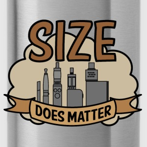 Vapor Size does matter Caps & Hats - Water Bottle