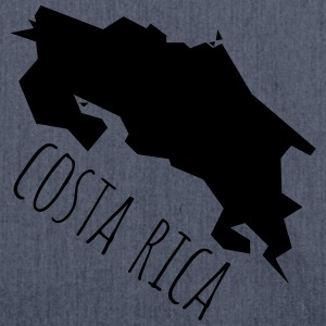 costa Rica T-Shirts - Schultertasche aus Recycling-Material