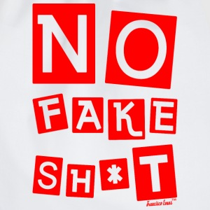 No Fake Shit, Francisco Evans ™ T-Shirts - Turnbeutel