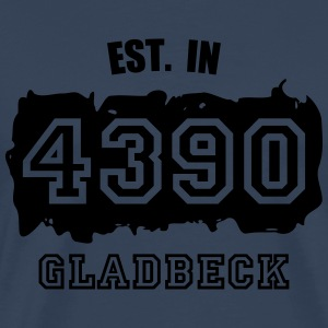 Established 4390 Gladbeck Langarmshirts - Männer Premium T-Shirt