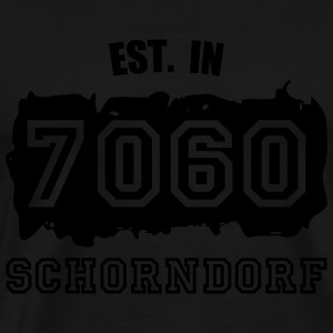 Established 7060 Schorndorf Pullover & Hoodies - Männer Premium T-Shirt