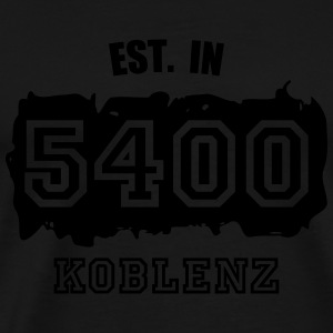Established 5400 Koblenz Sportbekleidung - Männer Premium T-Shirt