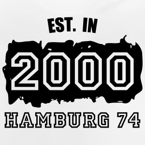 Established 2000 Hamburg 74 Langarmshirts - Baby T-Shirt