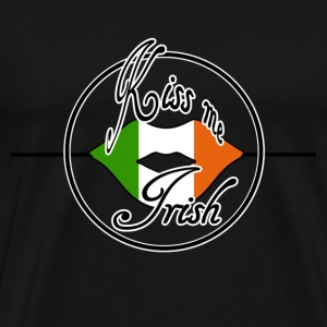 Kiss me Irish - Männer Premium T-Shirt