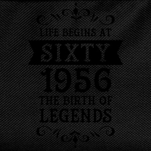 Life Begins At Sixty - 1956 The Birth Of Legends T-shirts - Ryggsäck för barn