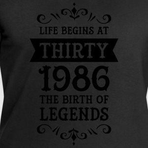 Life Begins At Thirty - 1986 The Birth Of Legends Tee shirts - Sweat-shirt Homme Stanley & Stella